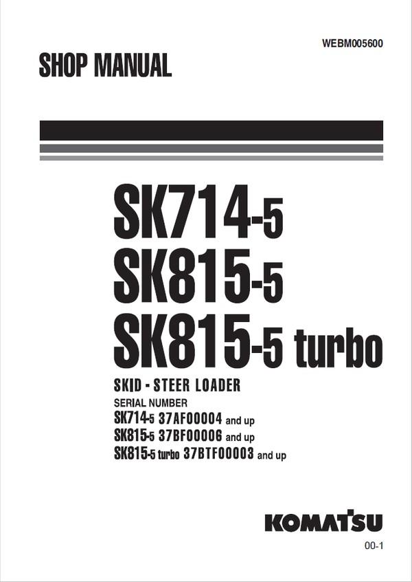 Komatsu PC27MR-3, PC30MR-3, PC35MR-3 20002, 30001, 150