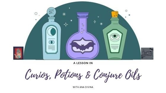A Lesson In Potions & Conjure Oils