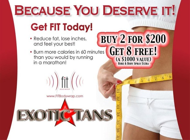 Fit Body Wraps Buy 2 get 8 FREE!