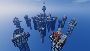 Bedwars Map Pack (4x)