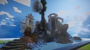 Lobby w/ Ship