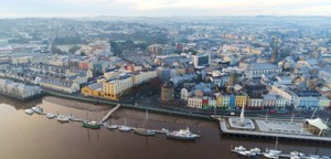 Aerial Waterford City