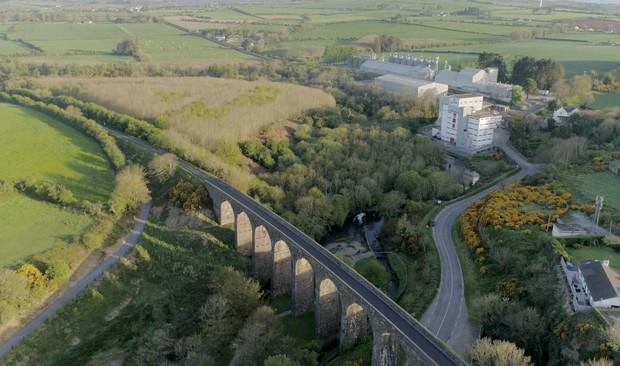 Flyover Viaduct Ireland