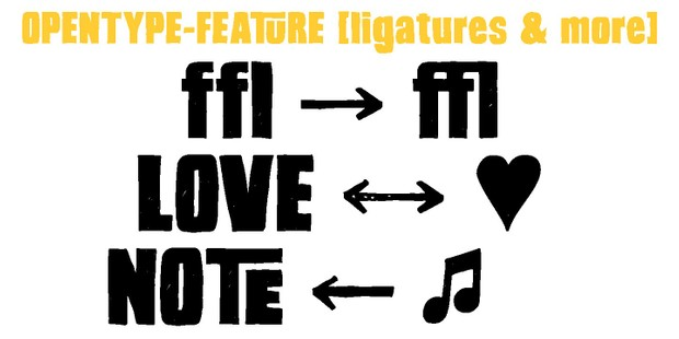 Font | Hand Sketch Rough Poster