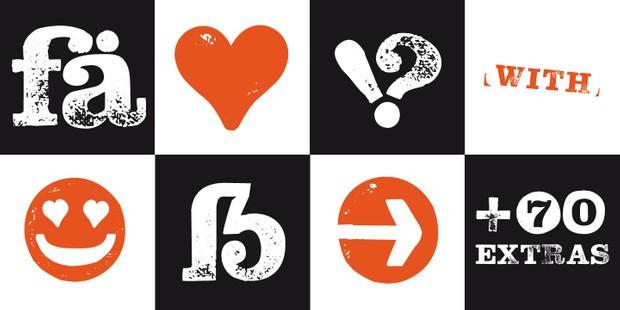 Font | Hand Stamp Slab Serif Rough