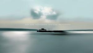 - Silver blue scene -