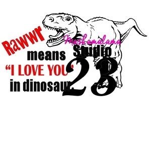 I Love You in Dinosaur!