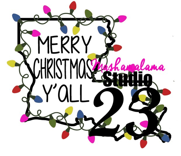 Louisiana - Merry Christmas Y'all!