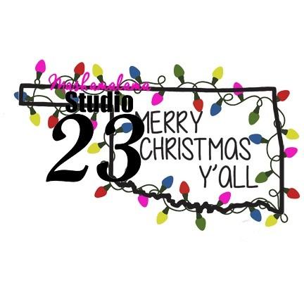 Oklahoma - Merry Christmas Y'all