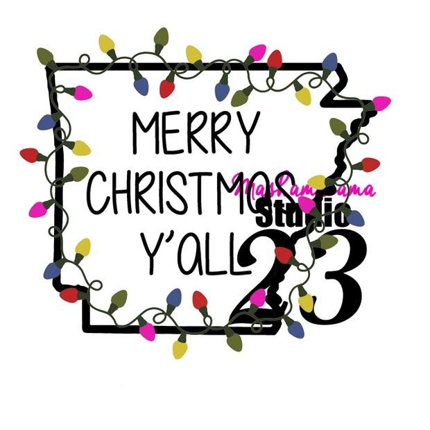 Arkansas - Merry Christmas Y'all!