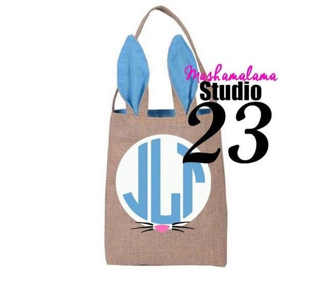 Bunny Monogram Bag