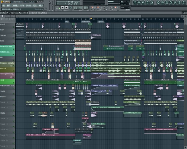 Fl studio EDM with a lot of presets and sounds!