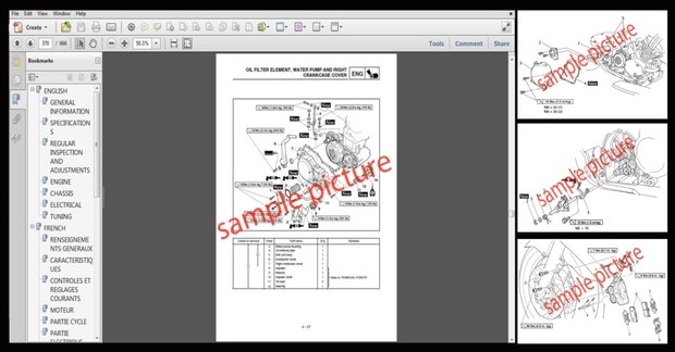 Bobcat S250 S300 Turbo Skid Steer Loader Workshop Service & Repair Manual