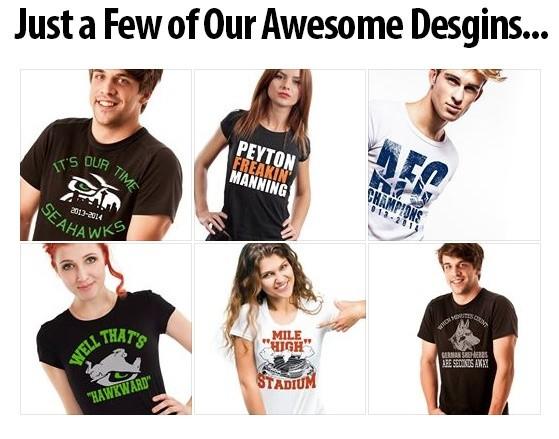 Vol.01 - 50 T-Shirts Designs for Teespring, Cafepress, Zazzle, Spreadshirt etc