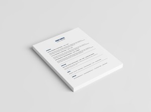 Minimalist Resume Template + Cover Letter Template | 2016 Resume Template | MS Word