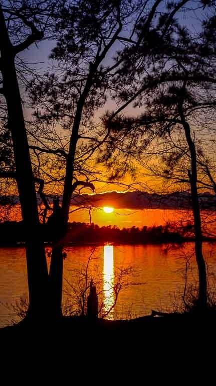 sunset amp clouds phone screensavers kevinjstruble