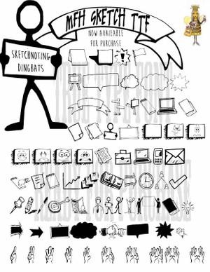 MFH Sketch Dingbats.TTF