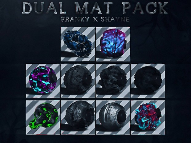 Dual mat pack w @CeilinFanFranky