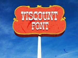 Viscount Font