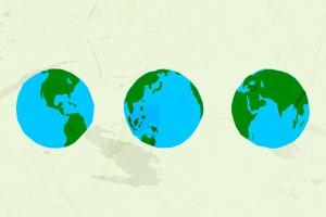 Vector Globe Shapes