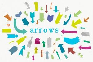 Vector Arrow Shapes