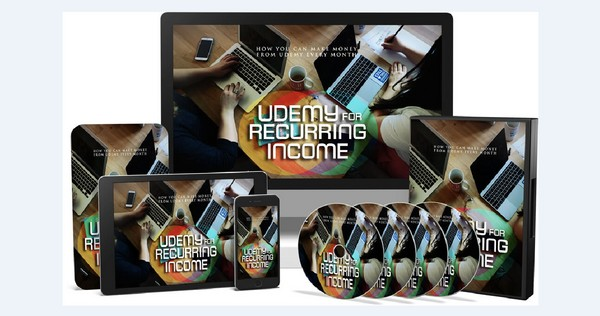 Udemy For Reccuring Income - How You Can Make Money From Udemy Every Month