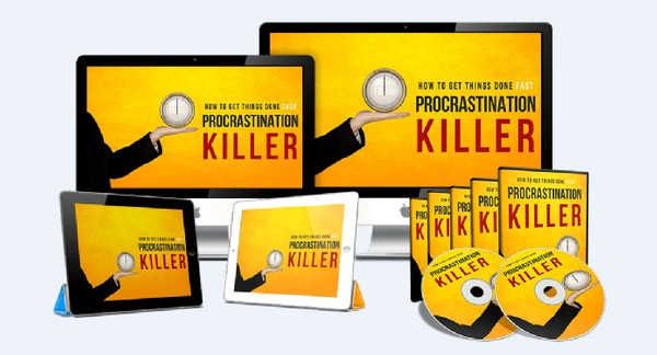 Procrastination Killer - Your Ultimate Go-To System On How To Get Things Done FAST!