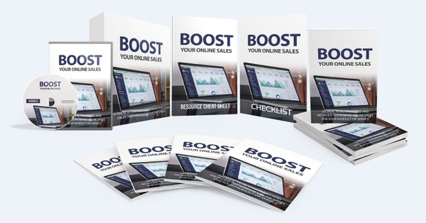 Boost Your Online Sales - Increase Online Sales For Your Product or Services