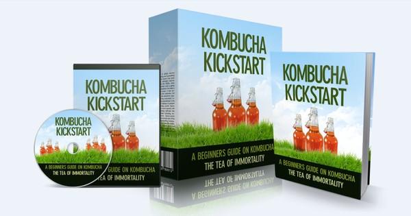 Kombucha Kickstart - A Beginners Guide On Kombucha - The Tea Of Imortality
