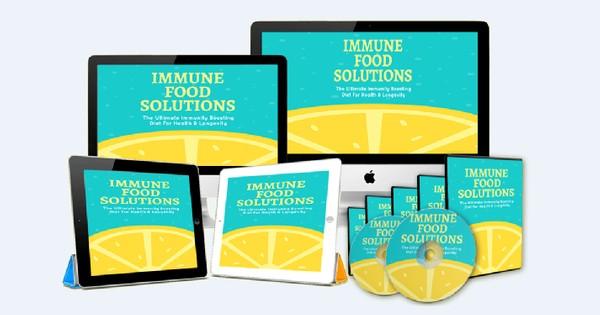Immune Food Solutions - The Ultimate Immunity Boosting Diet For Health & Longevity