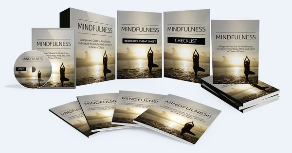 Mindfulness - A Beginner's Guide To Mindfulness To Improve Your Body, Mind, and Spirit
