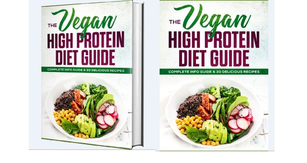 The Vegan High Protein - Become more healthy and slim