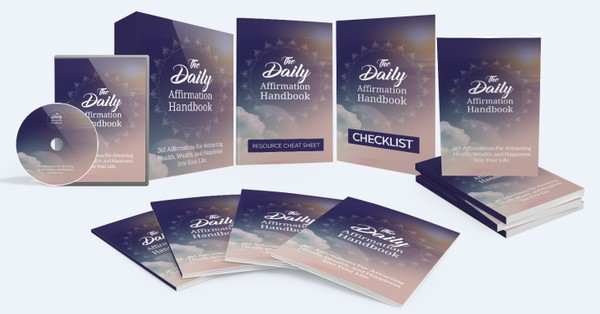 The Daily Affirmation Handbook - 365 Affirmations For Attracting Health, Wealth, and Happiness