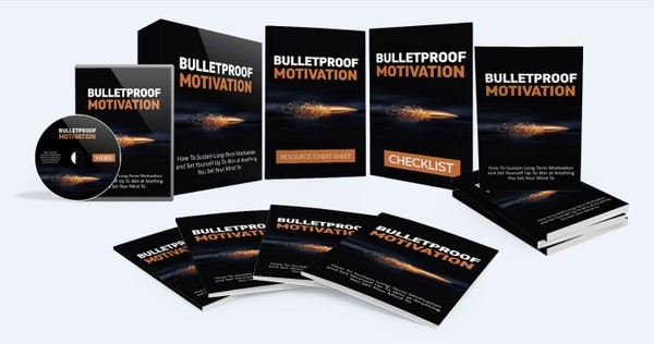 Bulletproof Motivation - How To Sustain Long-Term Motivation and Set Yourself Up To Win at Anything