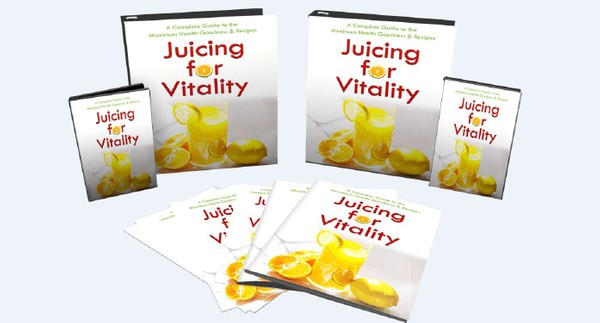 Juicing For Vitality - Lose Weight, Look Younger And Bursting With Energy
