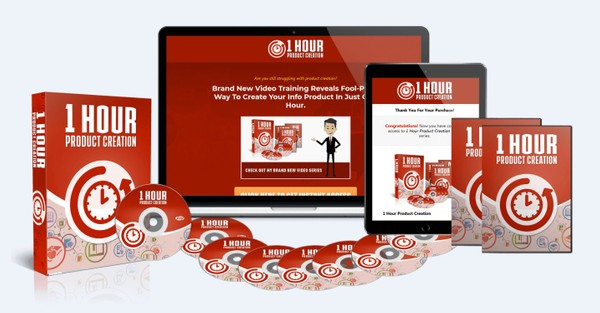 1 Hour Product Creation - Powerful Methods To Create Your Info-Product Within One Hour!