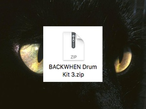 BACKWHEN Drum Kit 3