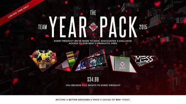 FaZeStudio 2015 'Year' Pack *REBORN*