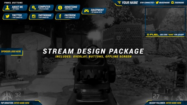 Customizable Stream Package
