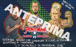 STRONZI ALPHA: Er Faina VS Fede Rossi (Boban Pesov)