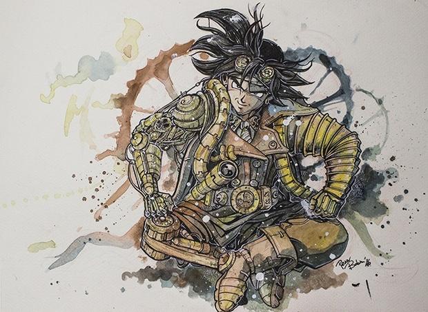 Goku Steampunk (Boban Pesov)