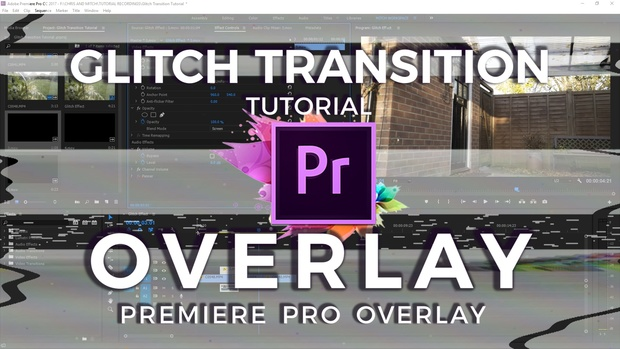 Glitch Transitions Overlays - Chris Dionasis