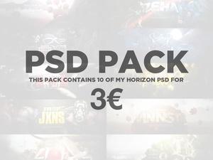 10 .PSD PACK !