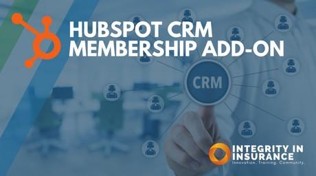 Hub Spot CRM - Membership Add-On