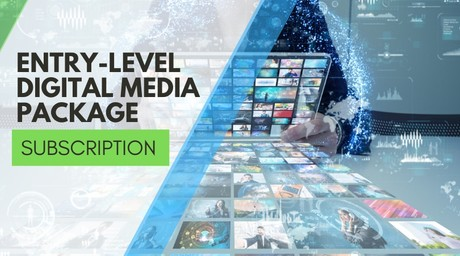 MONTHLY Website & Digital Media Management Package Subscription #1 ($89.85 per mo.)