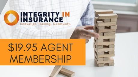 Integrity In Insurance Membership $19.95 Per Month