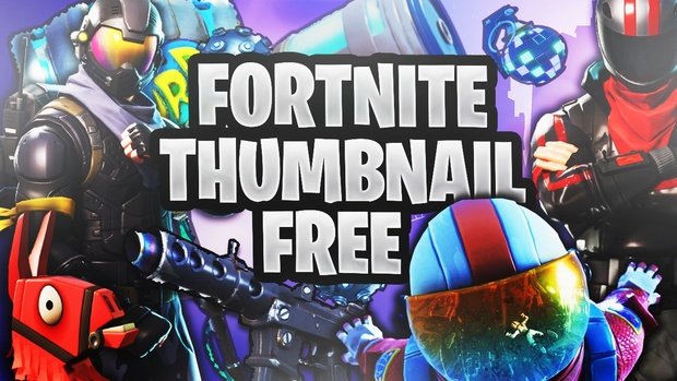 Free Fortnite Thumbnail Template