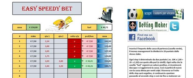 Easy Speedy Bet