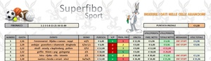 Fibonacci (calcio, basket & tennis)