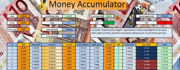 Money Accumulator